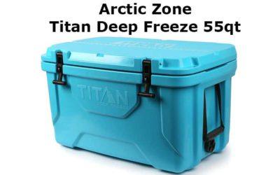 Arctic Zone Titan Deep Freeze 55qt Review